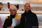 Angelo Maria Perrino, direttore responsabile del noto quotidiano on line Affaritaliani.it con Gianpaolo Cassese ideatore del fortunato brand inMasseria