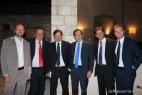 Da sinistra Gianpaolo Cassese, Franco Cavallo, Dario Stèfano, Nicola Motolese, Andrea del Genio e Luca Lazzaro