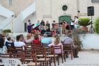 Prove tecniche e strumentali prima del concerto di musiche medievali