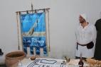 L'associazione La Ribeca impegnata in una esposizione di strumenti medici e prodotti medievali — presso Masseria del Duca.