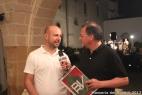 Il giornalista Mimmo Vita, di Canale Italia, intervista Gianpaolo Cassese, amminsitratore della Società Agricola F.lli Cassese s.s.