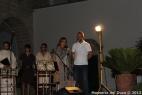 La responsabile delle Masserie didattiche di Puglia dott.ssa Angelica Anglani saluta e ringrazia il pubblico intervenuto alla magnifica serata di Masserie sotto le Stelle
