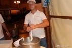 Mozzarelle inMasseria preparate al momento in occasione di Orecchiettre nelle 'nchiosce