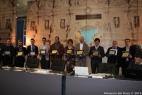 Tutti i premiati del Premio Bioenergy 2013, al centro Gianpaolo Cassese che ha ricevuto il Primo Premio per la Masseria del Duca