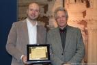 Gianpaolo Cassese con Beppe Croce, Segretario Chimica Verde e responsabile Legambiente agricoltura non food
