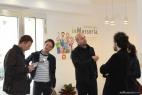 Conferenza stampa al punto vendita inMasseria