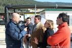 Gianpaolo Cassese mostra le bellezze della Masseria allo staff di Linea Verde