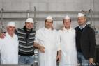 Da sinistra Franco, Massimo, Michele, Giovanni e Gianpaolo
