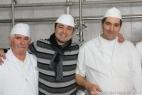 Da sinistra Franco Laneve, Massimo Telese e Michele Zizzi