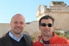 Gianpaolo Cassese, amministratore della Società Agricola F.lli Cassese insieme al regista della nota trasmissione Linea Verde, Lorenzo Di Majo