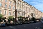 L'ingresso del Grand Hotel Europe di San Pietroburgo