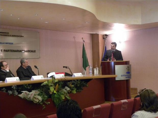 Convegno Camera di Commercio di Taranto