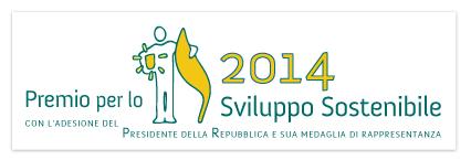Premio Sviluppo Sostenibile 2014