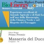 Primo Premio Migliore Pratica 2013