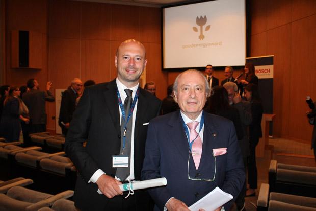 Gianpaolo Cassese e Giuseppe Bernoni
