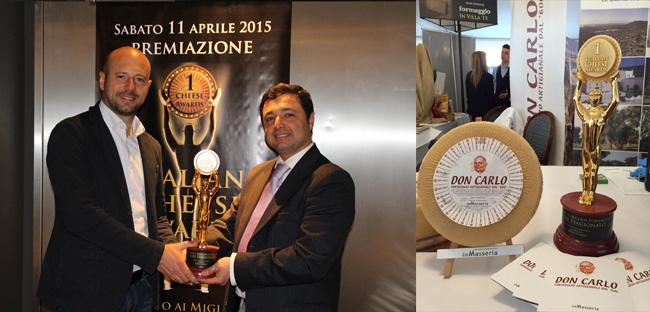 Formaggio Don Carlo - Italian Cheese Awards 2015