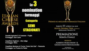 Italian Cheese Awards: Don Carlo in nomination